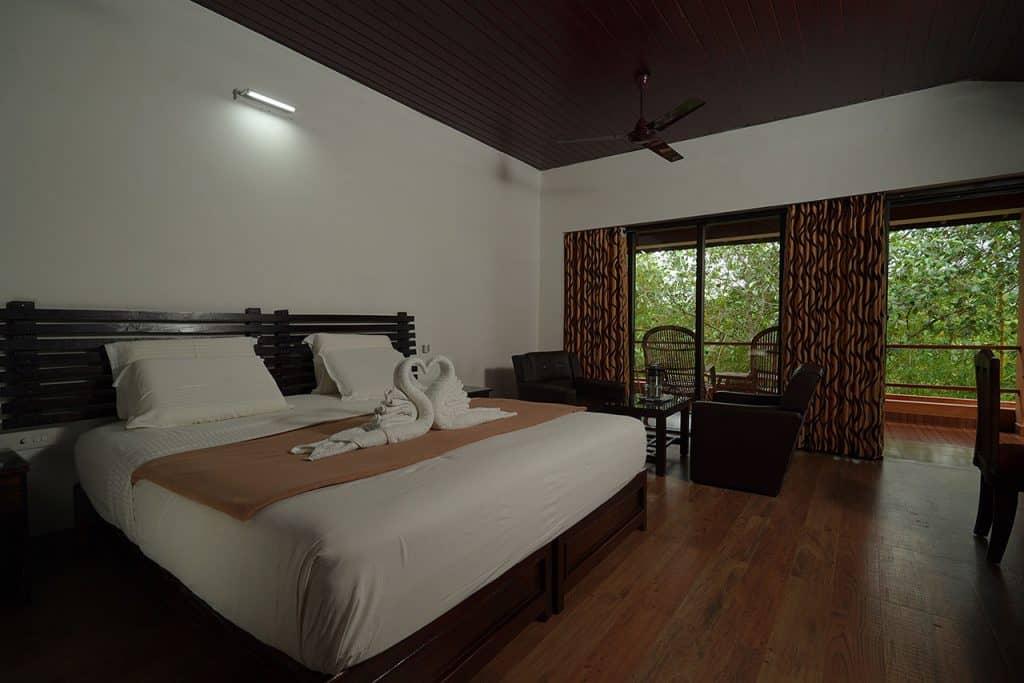Superior ac rooms in Ayurmana