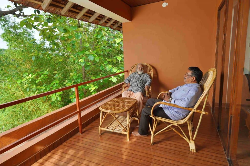 Spacious Balcony for relaxation