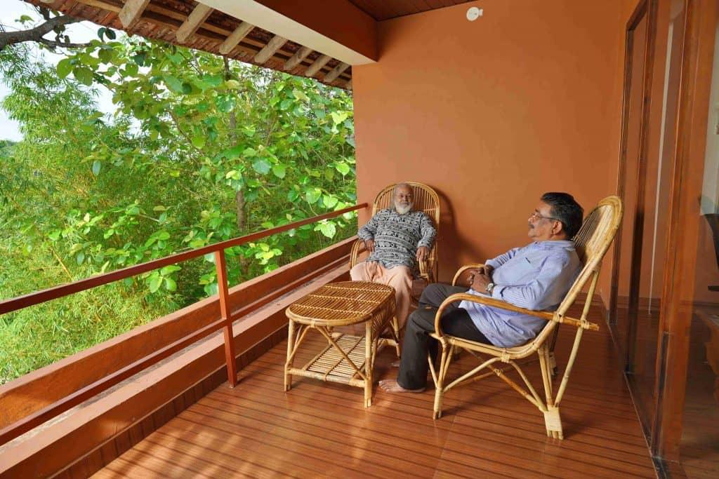 Geräumiger Balkon zum Entspannen